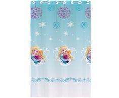 Disney Frozen 042955, Tenda con occhielli, pronta da montare, in poliestere, 140 x 240 cm, Blu (Blau)