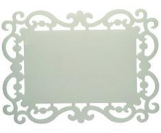 Bitossi Home BEF71, Set di 12 Tovagliette, 44 x 32 cm, Grigio