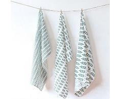 K&C 100% cotone, tovaglioli di stoffa grande base per la cena, la decorazione e l'uso quotidiano