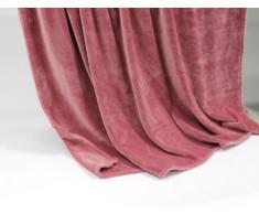 Lifestyle Products - Coperta in microfibra, extra spessa con effetto seta/cashmere, ca. 150 x 200 cm, rosa antico