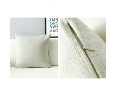 Hidoon® Showutheworld-Tovaglioli in cotone e lino, copriletto Federa per cuscino, motivo Imagine (18 45,72 cm
