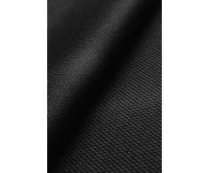 Coolmax Light - 100% Poliestere Coolmax® - asciuga velocemente - stoffa/tessuto al metro (nero)