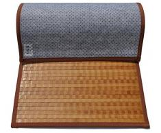 Bamboo Tamburato tappeto passatoia cm 50x75 [ROSSO]