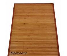 Bambù liscio tappeto passatoia cm 200x300 [OCRA]
