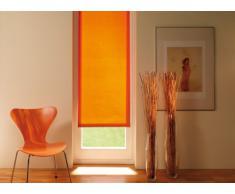 Gardinia Tenda a rullo con morsetto di fissaggio o adesiva, Per luce diurna, Opaca, Kit di montaggio incluso, EASYFIX Tenda a rullo avvolgibile, Arancione, 90 x 210 cm (LxA), tessuto