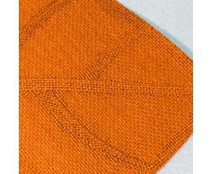 Esprit Maison DAilleurs - 3008729, Set Da Tavola , 30 X 45 Cm , Feuille , Fibra Di Carta , Arancione