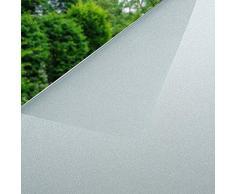 Cikuso Vetro 3D elettrostatico Pellicola Solare Anti Calore e UV Pellicola Oscurante Finestra Pellicola statica Vetro Opaco Decalcomanie Vetro Bagno Camera da Letto Cucina 45x200cm 2#