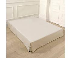 La Redoute Interieurs Coprirete Con Laccetti E Tasche Taglia 140 Bianco