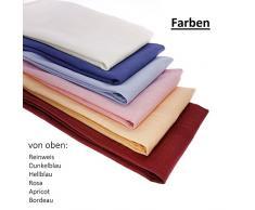 3 X tessuto tovaglioli/Tovaglioli In 100% cotone 44 cm x 44 cm in der Colore/bianco