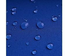 Breaker Teflon - tessuto in poliestere con un rivestimento acrilico - stoffa al metro (azzurro reale)