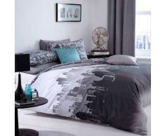 Catherine Lansfield, Set Biancheria da letto, Matrimoniale, 200 x 200 cm