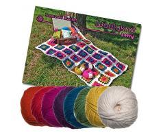 Treasured coperta uncinetto Bundle Pack. Lana e Crochet Pattern provided.