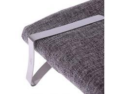 Confezione da 8 clip per tovaglia da picnic flessibili ideali per feste in casa e picnic in acciaio inox