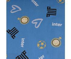 Tessuto Stoffa a metro F. C. Inter ufficiale altezza 280 cm M642