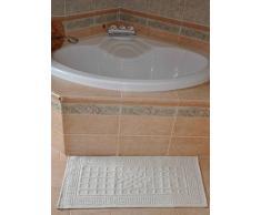 Sardo tappeto bagno cm 65X120 [GIALLO]