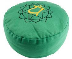 Berk - Inner Worlds YO-30-4 - Cuscino per Meditazione, Motivo Chakra del Cuore
