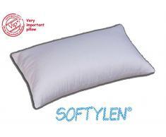 Guanciale Alto Vip Golden soft cuscino cm 50x80 imbottito fiber ball Softylen