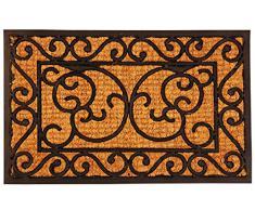 Esschert Design Zerbino Rettangolare in Gomma, 60 cm x 40 cm