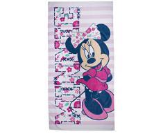 Character World - Asciugamano, motivo: Minnie Disney