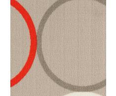 ABC Tappeto La Cucina Opty Beige-Orange 57 x 200 cm
