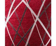 MIULEE Confezione da 2 Fodere per Cuscini Decorative Federe Copricuscini Stampati Arredi per Casa Divano Camera da Letto17.5inch/44.5cm Rosso Modello B