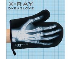 Mustard M13005 Guanto da Forno - Nero Radiografia X-Ray Glove