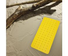 Ridder 683040-350 - Tappetino per vasca da bagno Playa, 38 x 80 cm, colore: Giallo Neon