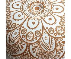 Kapok Cuscino da Meditazione Cuscino di Seduta Guru-Shop Cuscino di Seduta Cuscino a Pavimento TappetinoThai Rosso 50x50 cm
