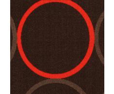 ABC Tappeto La Cucina Opty Brown-Orange 57 x 140 cm