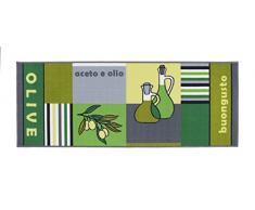 Passatoia da cucina, antiscivolo, passatoia, Oeko-Tex 100, tappeto da cucina, div. Motivi