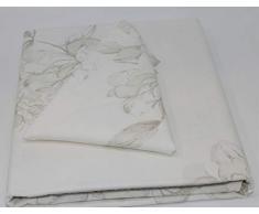 Vallesusa Servizio da tavola Puro Twill di Cotone Art. Agata Rettangolare x 12 cm. 160x270 con 12 tovaglioli