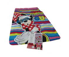 Disney MINNIE tenda cameretta con borchie in microfibra 140x290 cm G829