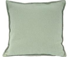 David Fussenegger, Federa per cuscino, con cucitura decorativo, 40 x 40 cm, Verde (Grün), Cotone