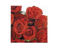 """'Tovaglioli di stoffa """"Rote Rosen 33 x 33 cm"""