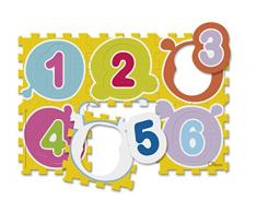 Chicco 7161 - Tappeto Puzzle, Numeri