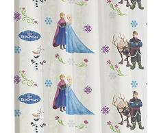 Disney Ice Queen - sipario anello decorativi sciarpa tende tenda ciclo decorazioni sciarpa per bambini - 145 x 245 cm - disponibile in bianco e rosa dal Venditore, bianco, 145 x 245 cm