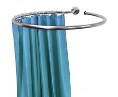 LOOP - Anello per appendere la tenda da doccia in acciaio inox circolare e anelli per tende