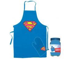 SD Toys SDTWRN89171 - grembiule e guanto, il design Superman