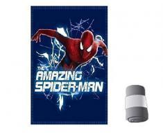 Marvel Spider Man The Amazing Uomo ragno Plaid in PILE Coperta Bambino 150x 100