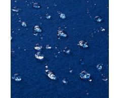Gaby - tessuto di lana & kashmir italiano - stoffa/tessuto al metro (azzurro reale)