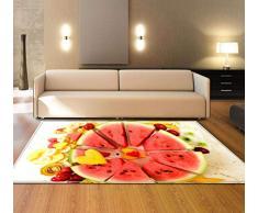 LYJ Tappeto Arte Moderna Modello Decorativo Tappeto Casa Soggiorno Camera da Letto Ristorante Mat,A3,100 * 150cm