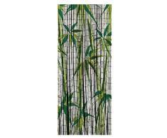 Wenko - Tenda 819113500 bambù Bamboo, in bambù, Multicolore, 200 x 90 x 0.2 cm