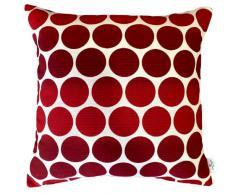 Tom Tailor, Federa per cuscino, 50 x 50 cm, Rosso (Rot)