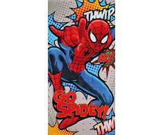 Disney, Telo da mare per bambini, motivo: Spiderman, 70 x 140 cm