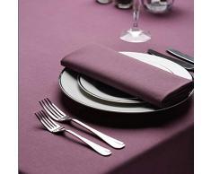 Treb Horecalinnen - Tovaglioli di Stoffa, 10 Pezzi, Disponibile in 26 Colori, 51 x 51 cm, 20 x 20 cm UVA