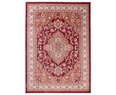 Carpeto Rugs Tappeto 60 x 100 cm rosso Orientale Classico Ayla Collezione