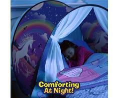 Premewish Tende da Sogno, Magical World Tents, Kids Fantasia Casa, Caldo Bambini Tenda (Unicorno)