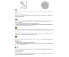 Salva poltrona reclinabile Mowin dimensione 1 posto (55 Cm.), Colore 07 (Vari colori disponibili)