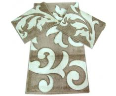 Tris tappeti scendiletto modificare una pelliccia - Tris tappeti bagno ...