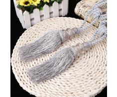 Lunji embrasse tenda corda – Gland nobile – Decorazione della Casa (Golden) grigio